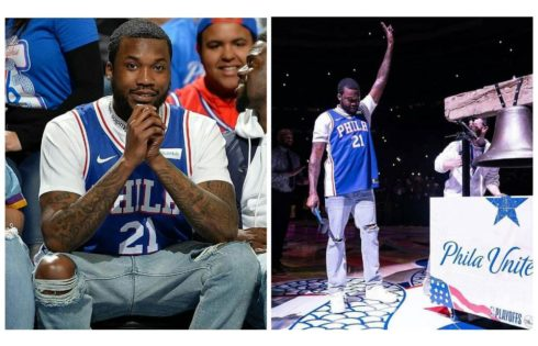Meek Mill Pictured With His 7-Year-Old Son