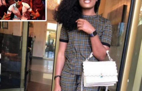 Cee-C Steps Out Looking Stylish