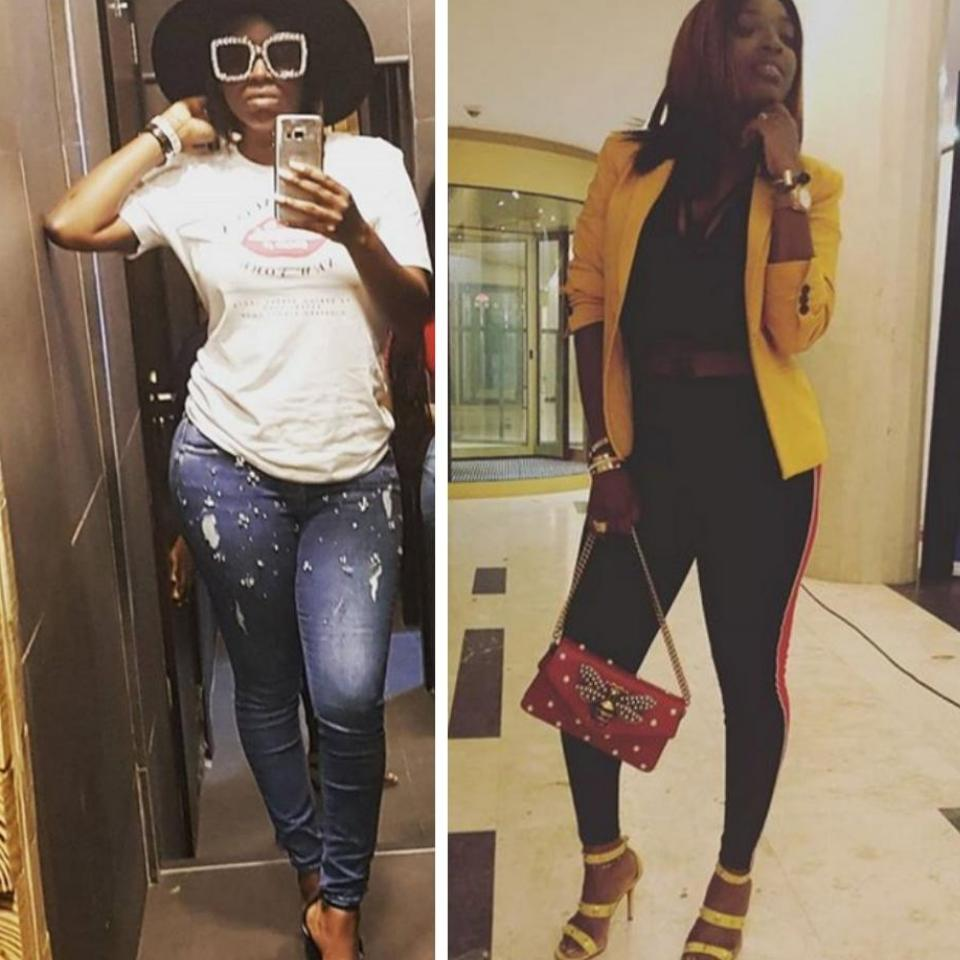 Annie Idibia Shares Epic Throwback To When She First Visited Tuface's Hometown