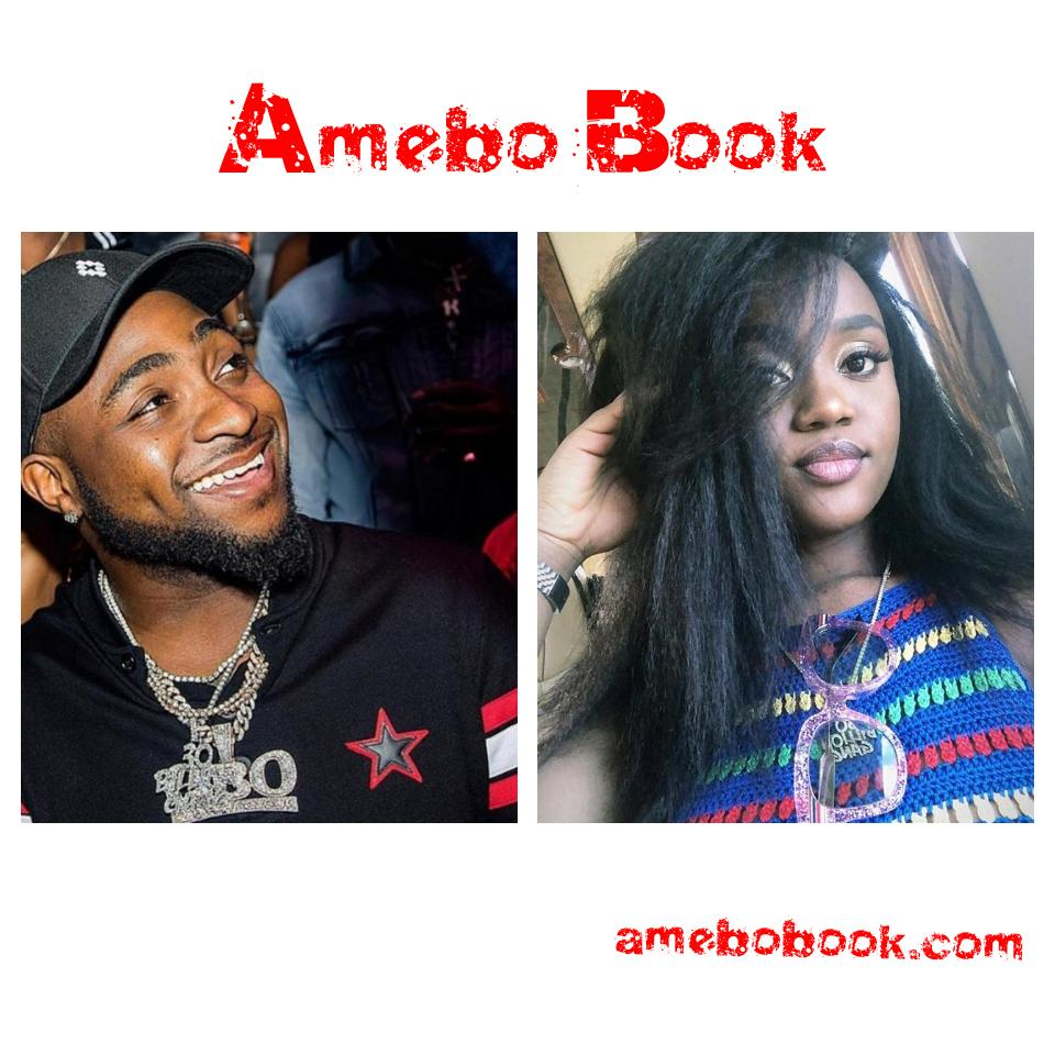 Davido Holding On To Chioma's Cloth