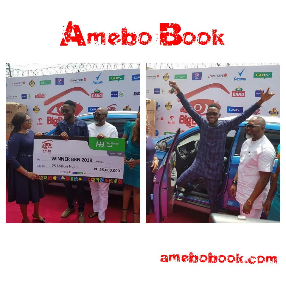 Miracle Picks Up SUV Prize Car And N25million Cheque