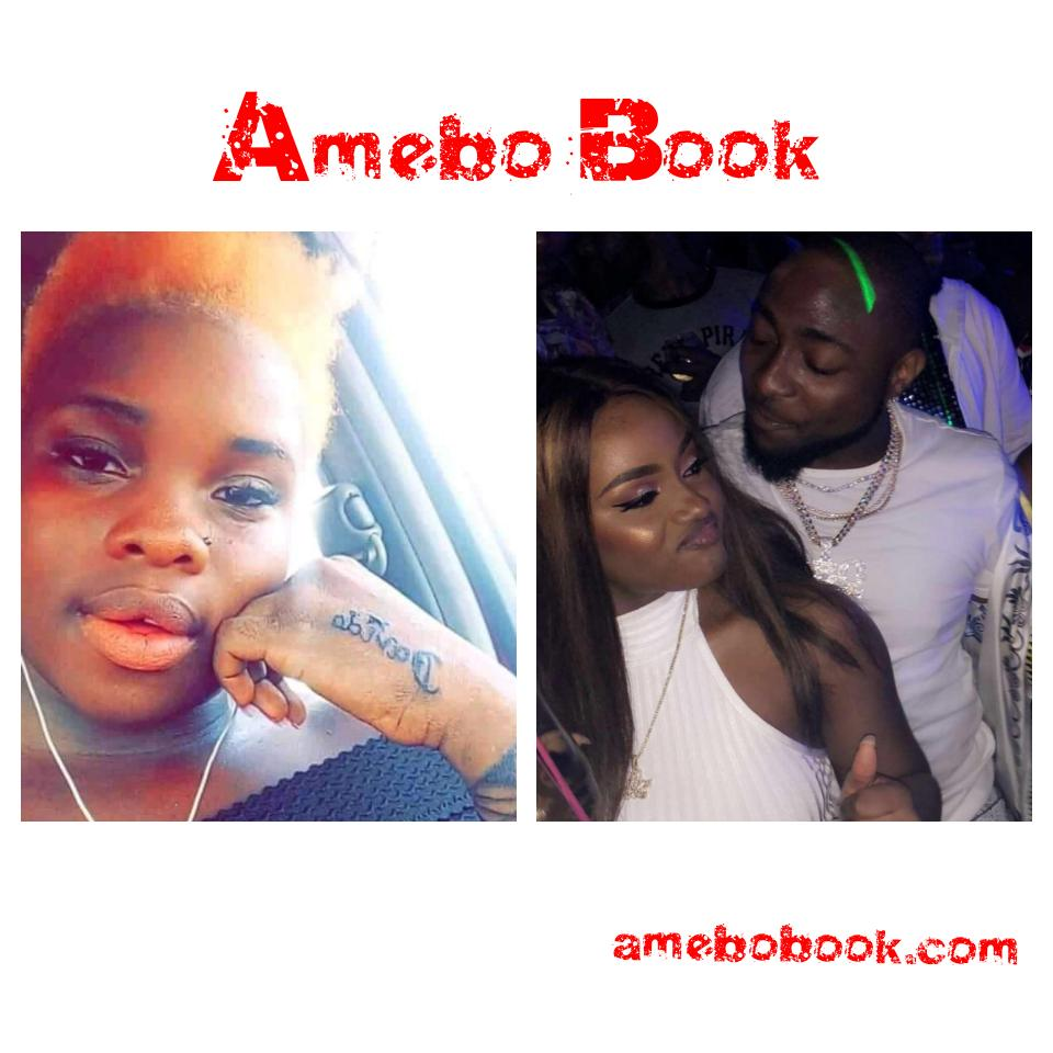 Nigerian Slay Queen With Davido Tattooed On Her Hand