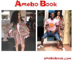 Tobi Bakre Poses With Adesua Etomi