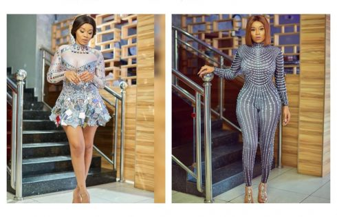 Onyii Alex Puts Her Massive Behind And Side Boob On Display