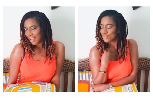 Chika Ike Shows Off Stunning New Dreadlocks