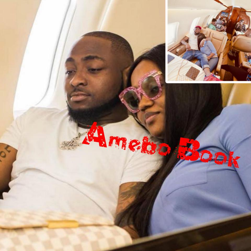 Davido And Chioma Reunite After Atlanta Trip