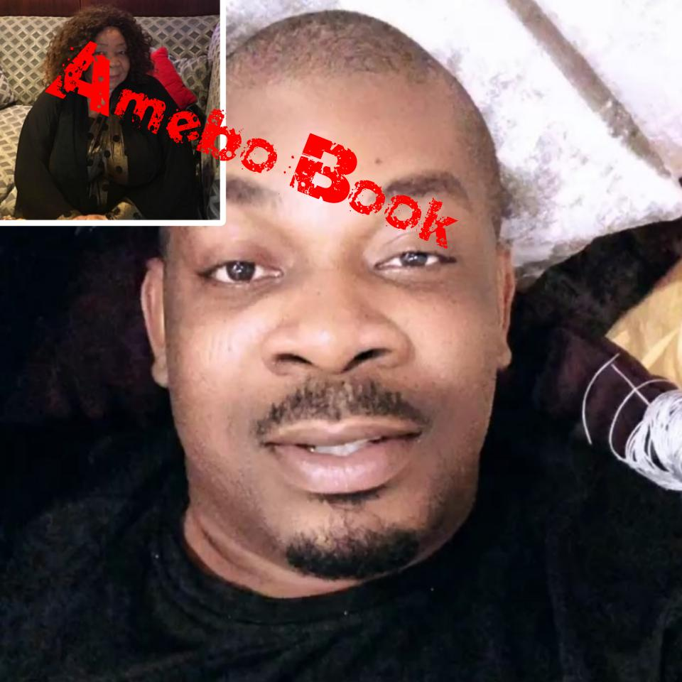 Don Jazzy Shares Sweet Snap Of His Look-Alike Mum
