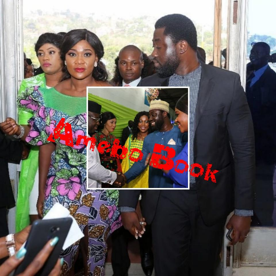 Mercy Johnson And Prince Odi Okojie Are Hosted By Sierra Leone's New President