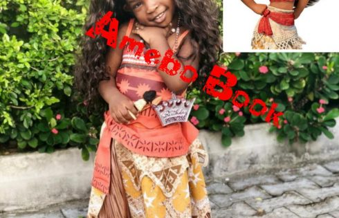Imade Adeleke Recreates Moana's Look