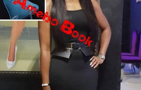 Ebube Nwagbo Shows Off N745K Balenciaga Triangle Shaped Bag