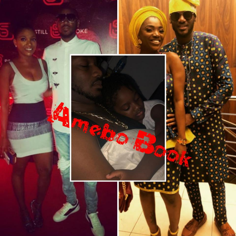 Annie Idibia Shares Photo Of Daughter Olivia Asleep On Tuface Chest