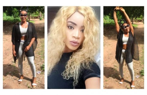 Uche Ogbodo Curses At Fan Who Called Her Insane