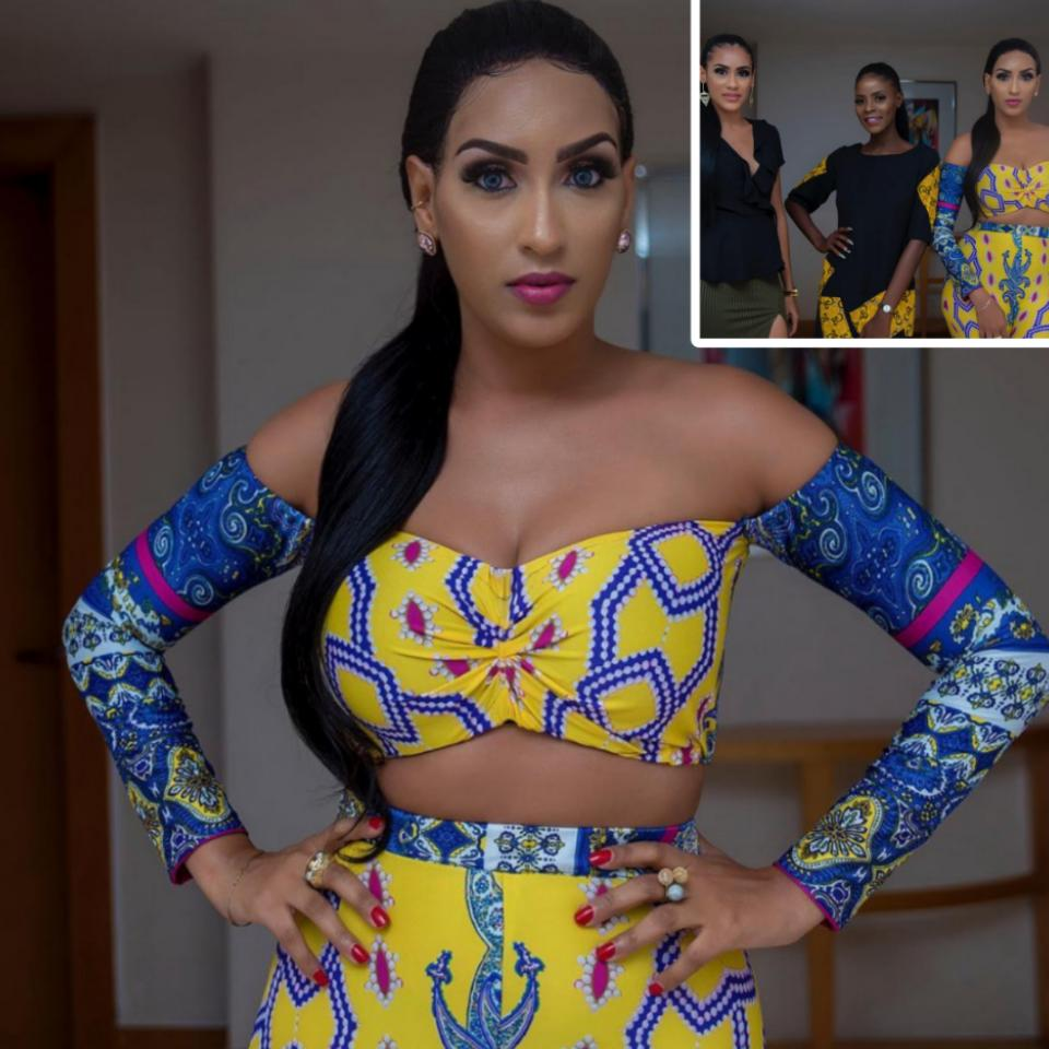 Juliet Ibrahim Slays In Two-piece Outfit From Koko By Khloe