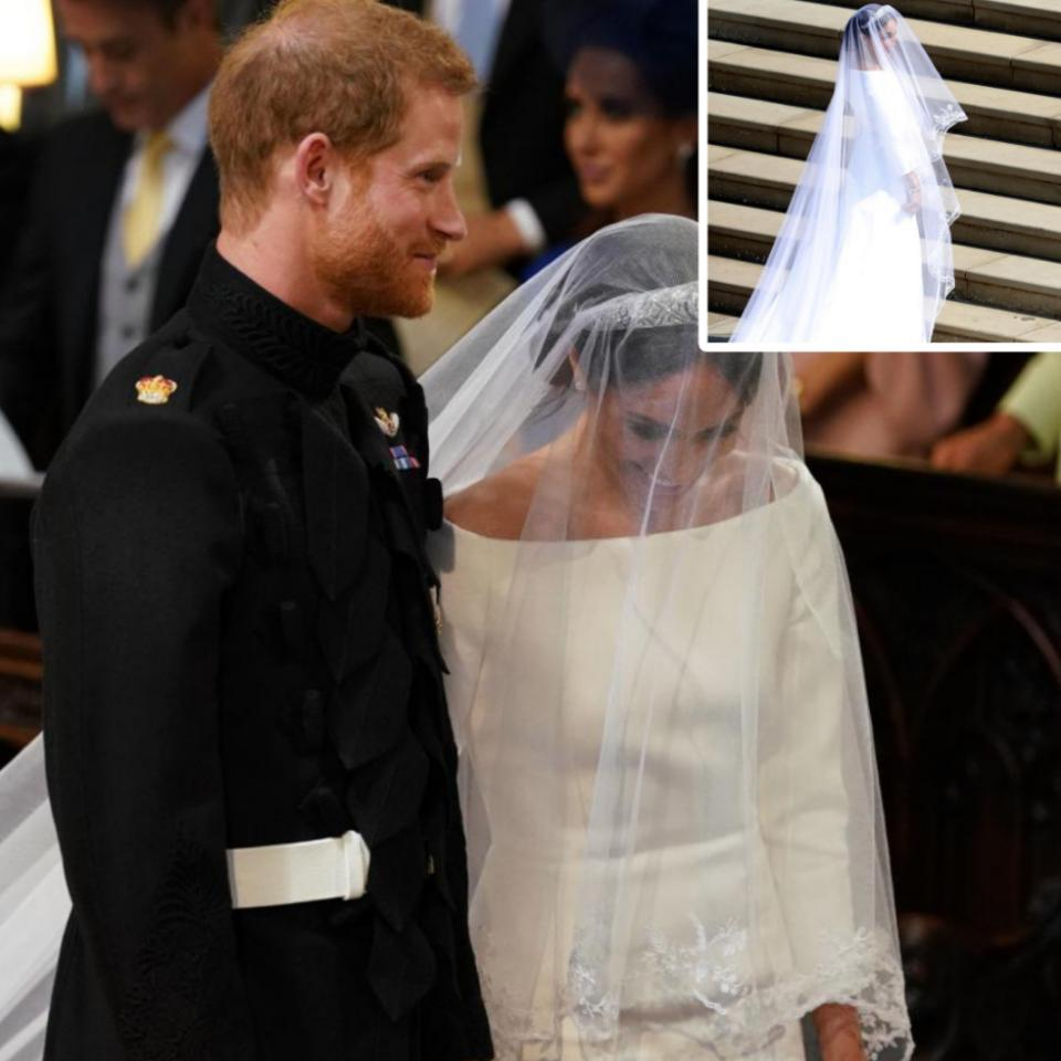 Prince Harry And Meghan Markle At The Royal Wedding