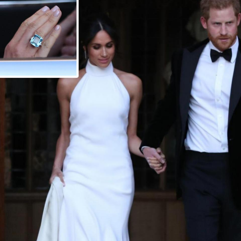 Emerald-cut Ring Meghan Markle Rocked