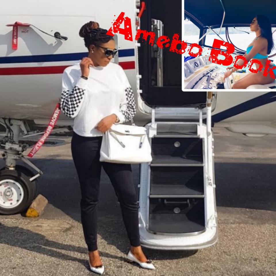Chika Ike Shows Off Her Stunning Figure On Set Small Chops