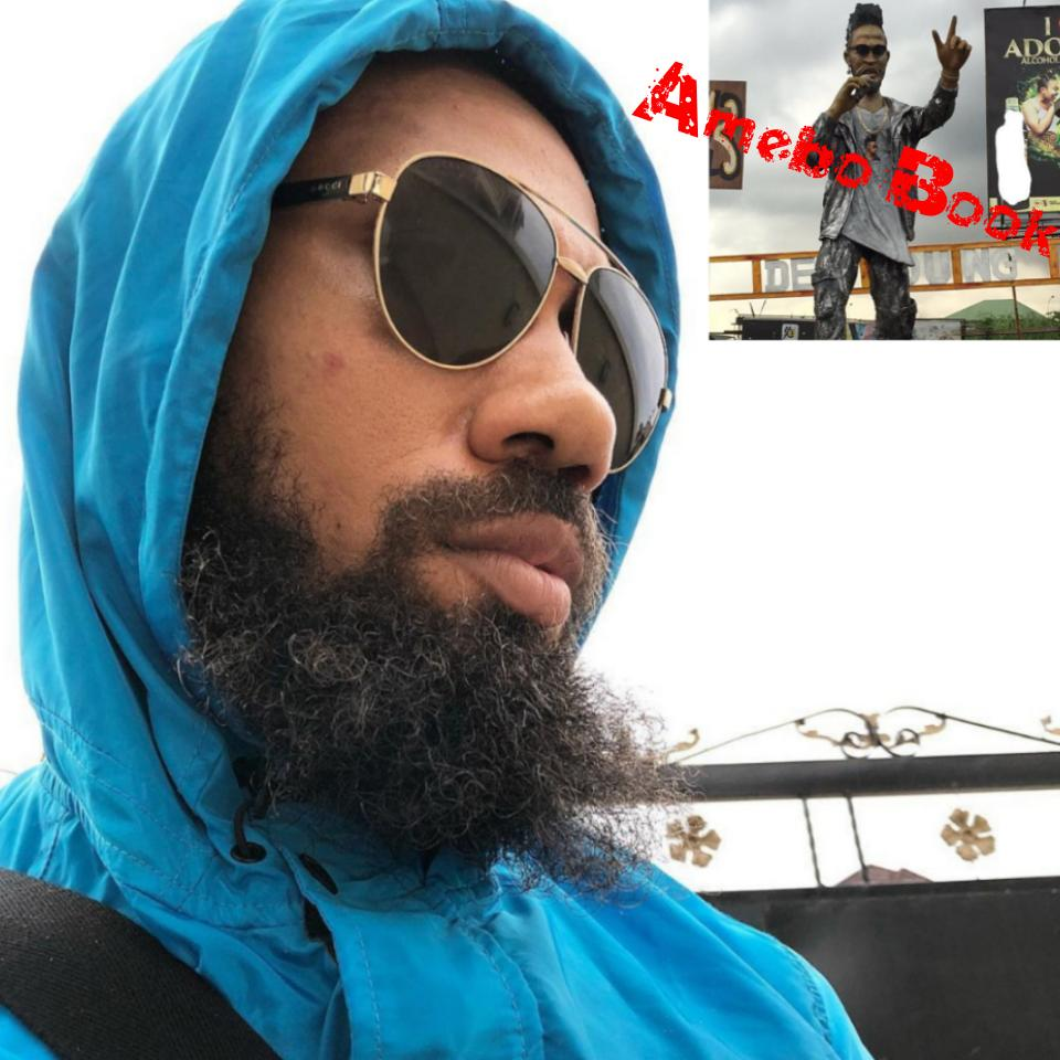 Phyno Statue Erected In Eleme