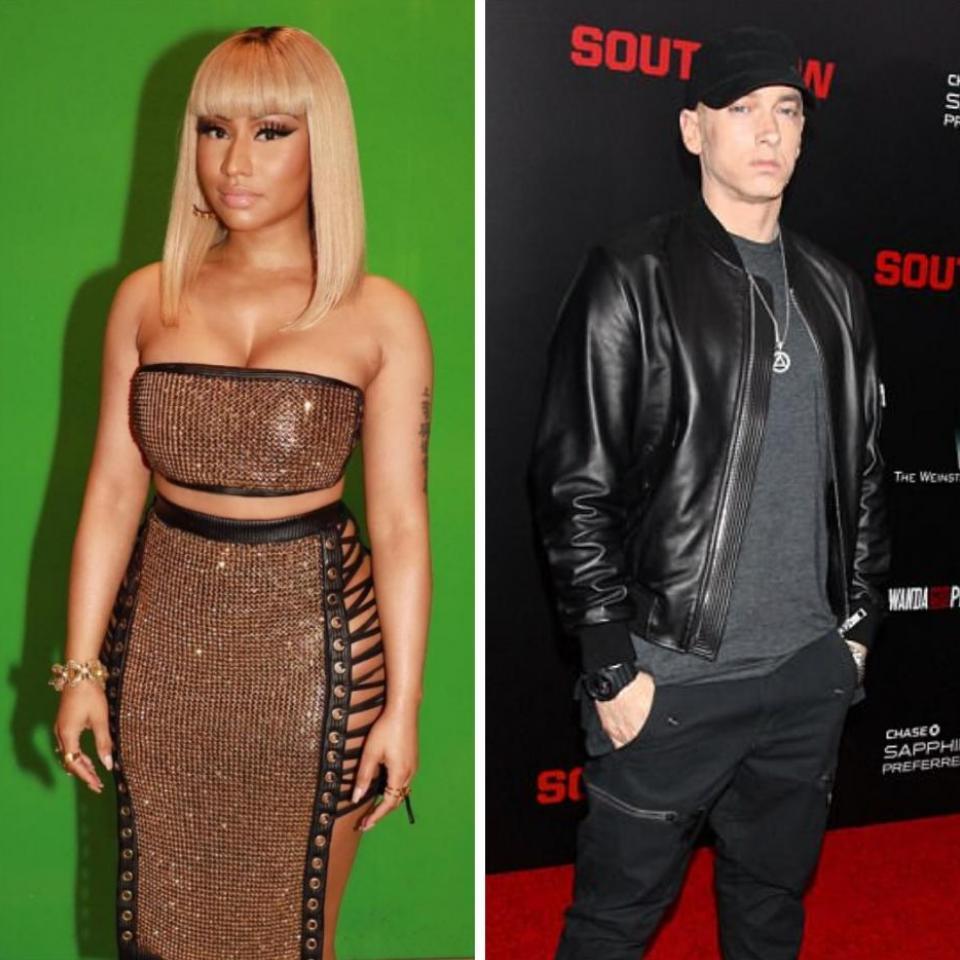 Nicki Minaj And Eminem Dating Rumours