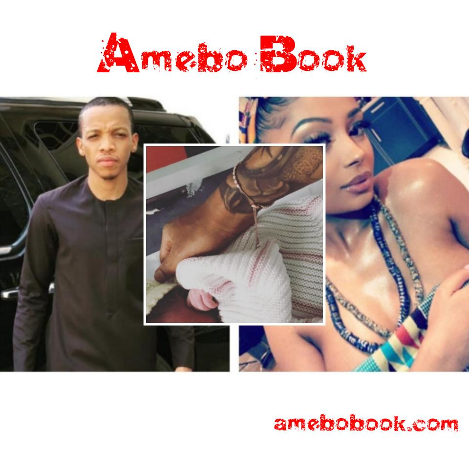Tekno And His Lola Rae Welcome Baby