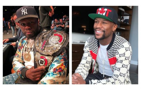 50 Cent Calls Out Floyd Mayweather