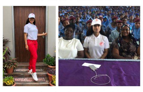 Tonto Dikeh Celebrates Menstrual Hygiene Day
