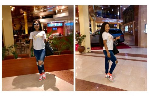 Tonto Dikeh Shares New Photos In Preparation For Birthday