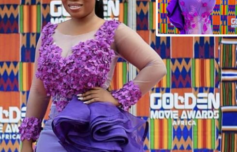 Moesha Boduong At 2018 Golden Movie Awards Africa