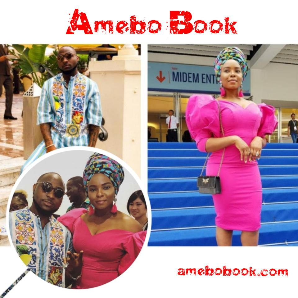 Davido And Yemi Alade Pictured Together In Cannes