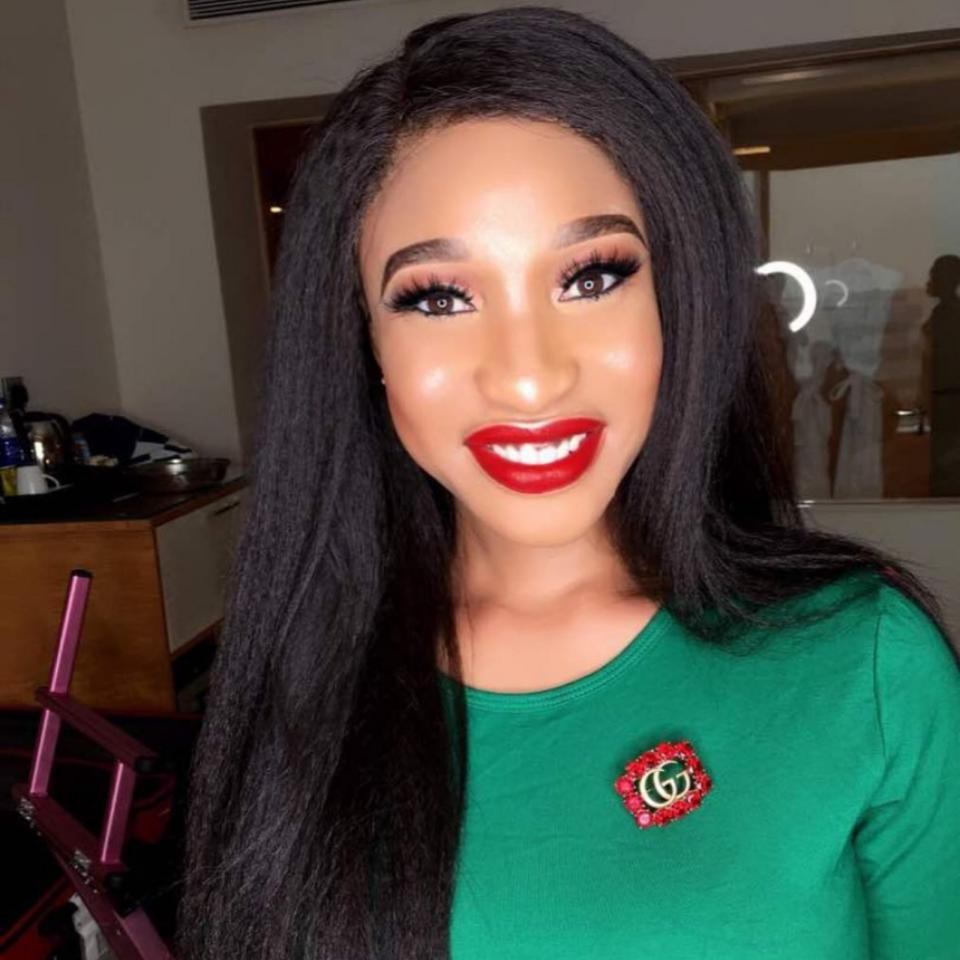 Tonto Dikeh Shares Throwback To When She Was A Little Girl