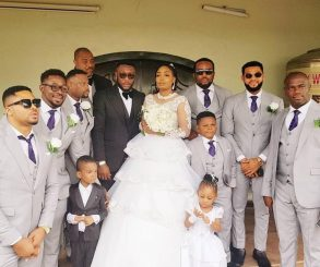 Tchidi Chikere And Nuella Njubigbo Wed In Church