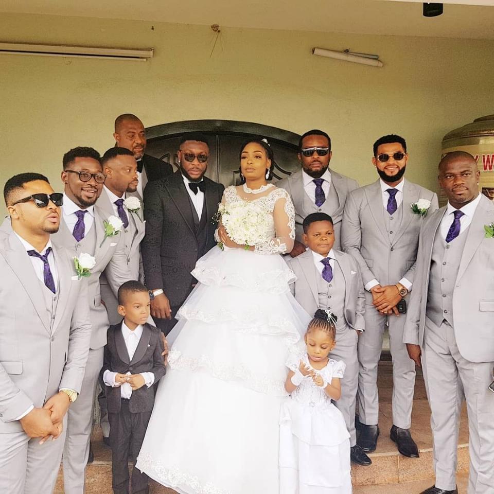 Tchidi Chikere And Nuella Njubigbo Wed In Church