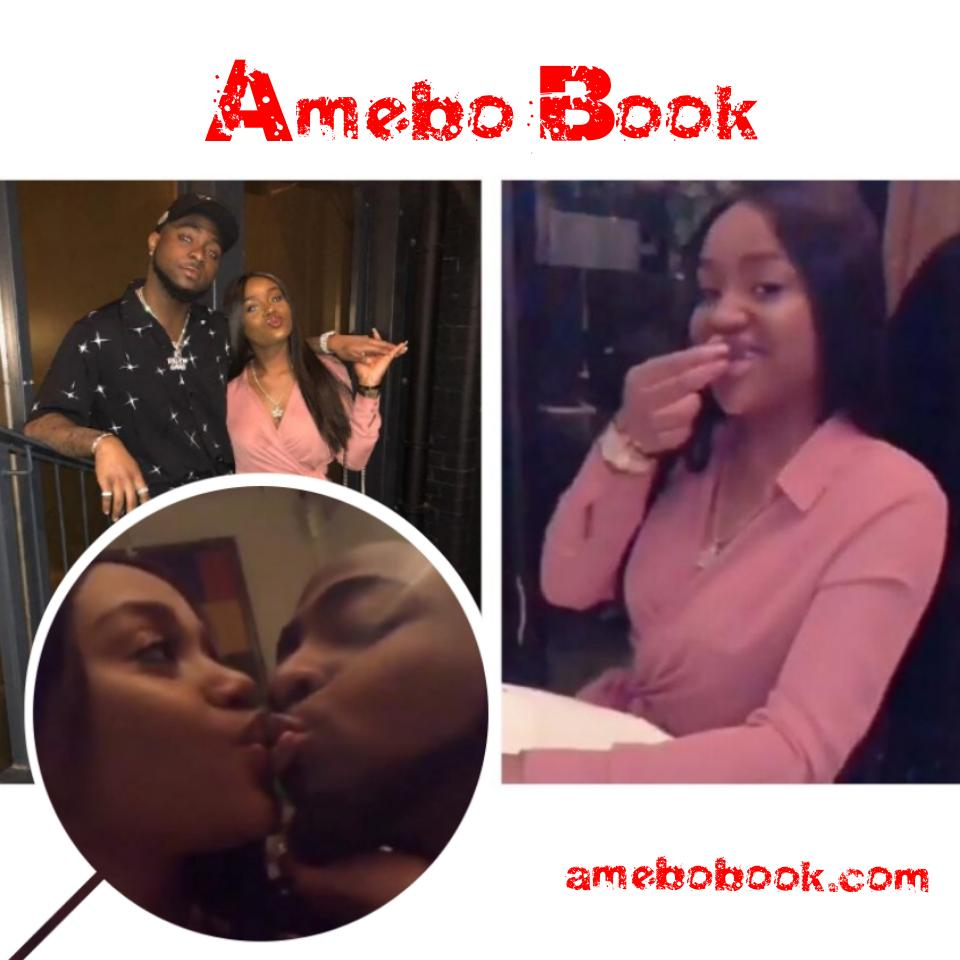 Davido Kisses And Spoon Feeds Chioma Avril Rowland