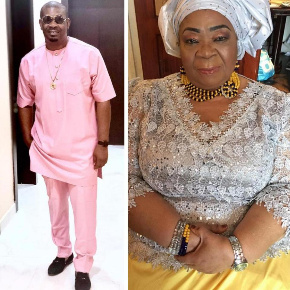Show Them That Your Thing Is Working Don Jazzy's Mum Teases