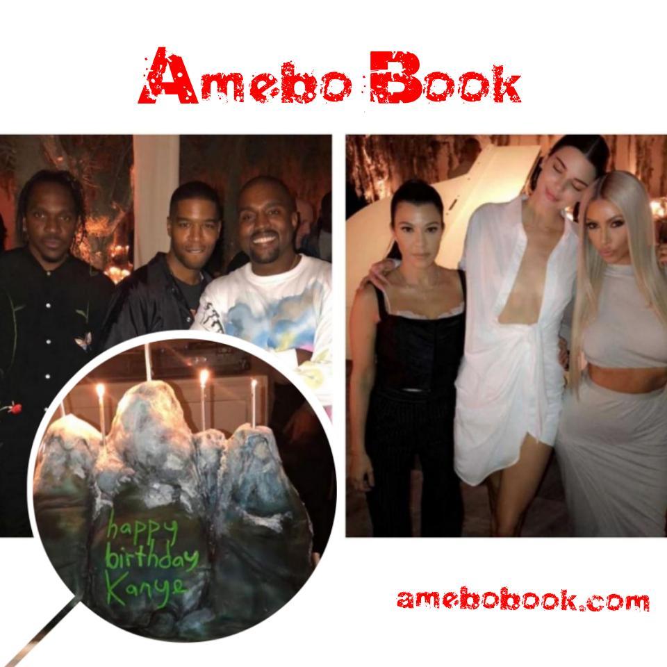 Kanye West Celebrates 41st Birthday
