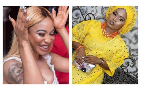 Tonto Dikeh Wishes Halima Abubakar Happy Birthday