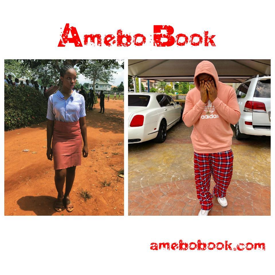 Bambam Wearing Secondary School Uniform
