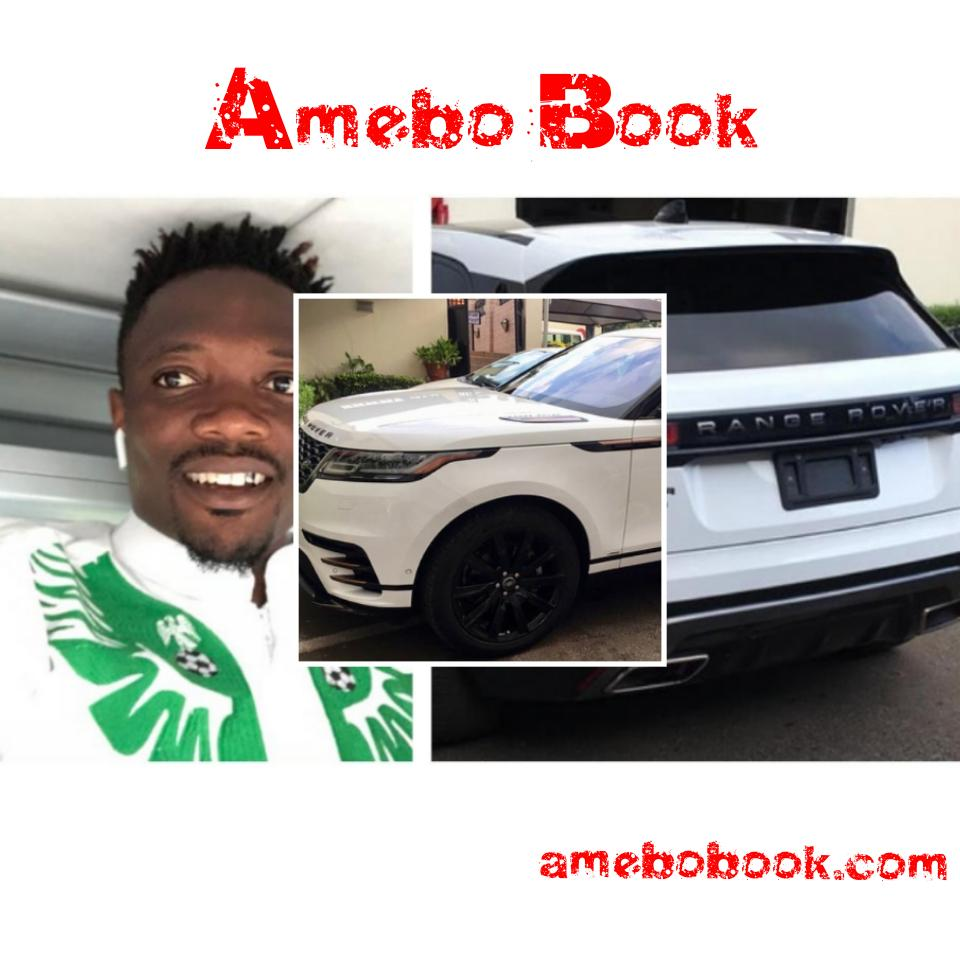 Ahmed Musa purchases 2018 Range Rover Velar