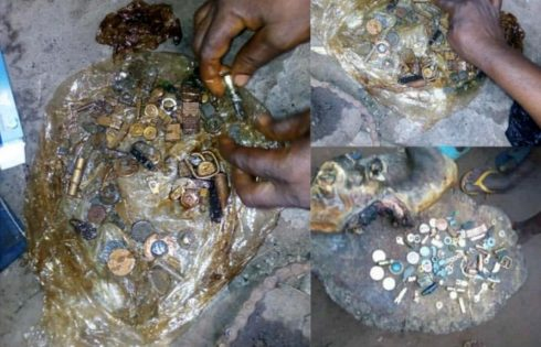 Watches Found Inside A Goat's Intestine In Cross River