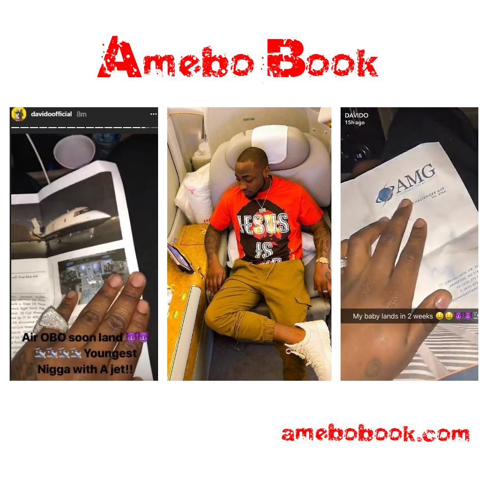 Davido Replies Fan Who Asked About The Private Jet He Claimed He Bought