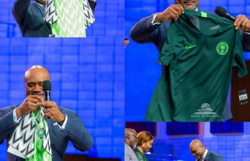 Pastor Paul Adefarasin Prays For Super Eagles