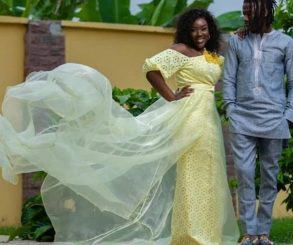 Stonebwoy And Dr. Louisa's 1st Wedding Anniversary