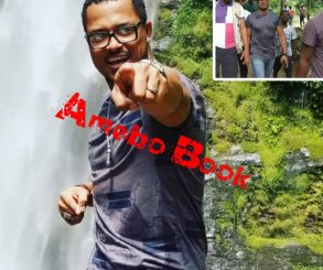 Van Vicker Visits Wli Waterfalls In The Volta Region