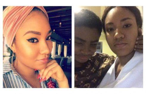 Anna Banner Spends Quality Time With Flavour's Adopted Son Semah
