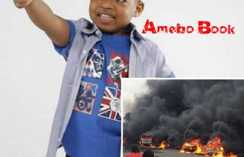 Man Claims He Saw Corpse Of 3-Year-Old Boy Declared Missing After Otedola Bridge Tanker Explosion