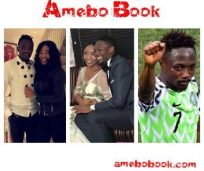 Ahmed Musa Celebrates Second Wife Juliet Ejue On 1st Year Wedding Anniversary