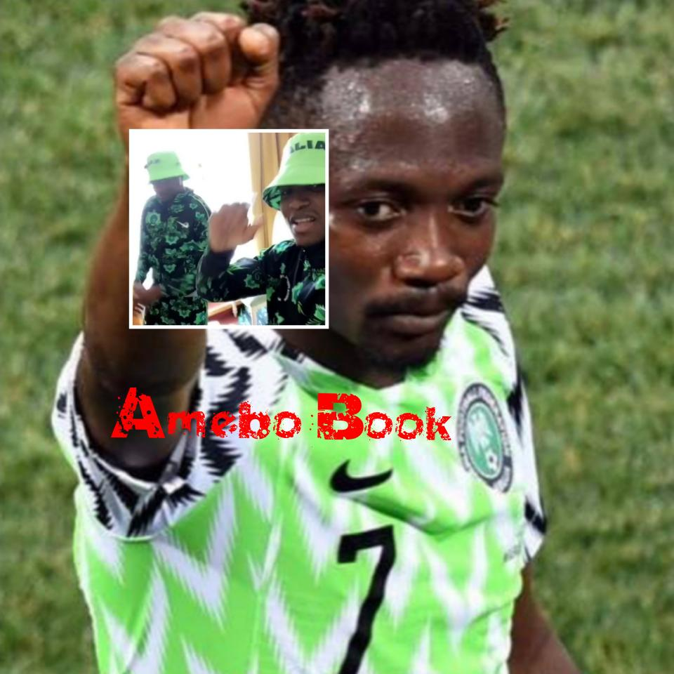 Ahmed Musa And Shehu Abdullahi Dance While Rocking Nigeria's World Cup Tracksuit