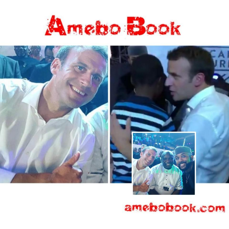 11-Year-Old Nigerian Draws French President Emmanuel Macron