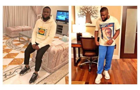 Hushpuppi Spends N5million On Two Gucci Jackets