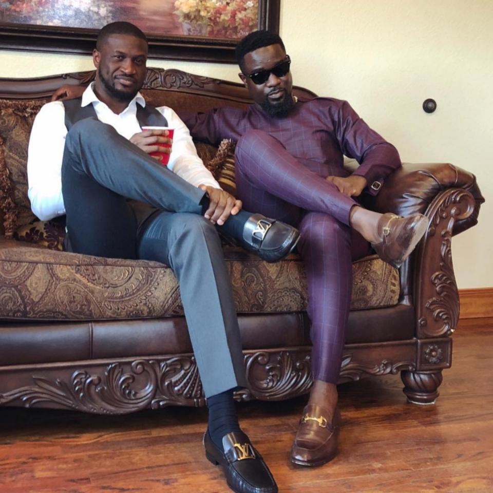 Peter Okoye Thinks Sarkodie Is Ghana's Minister of Enjoyment