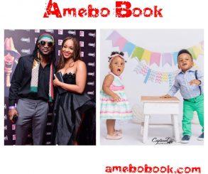 Paul Okoye And Wife Anita Celebrate Twins On Their 1st Birthday